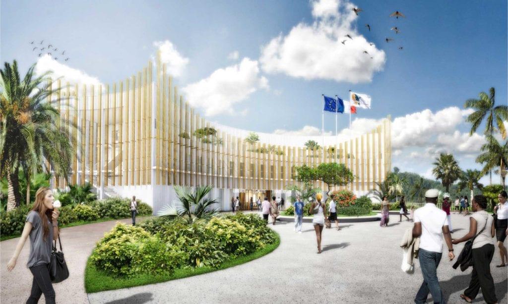Nouvelle mairie de la Ville de Rivière-Salée en Martinique