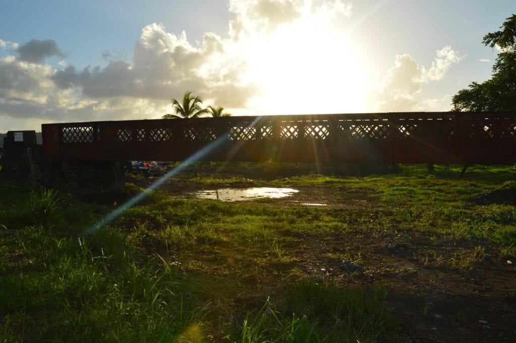 Le pont Bac à Rivière-Salée - Mairie de Rivière-Salée