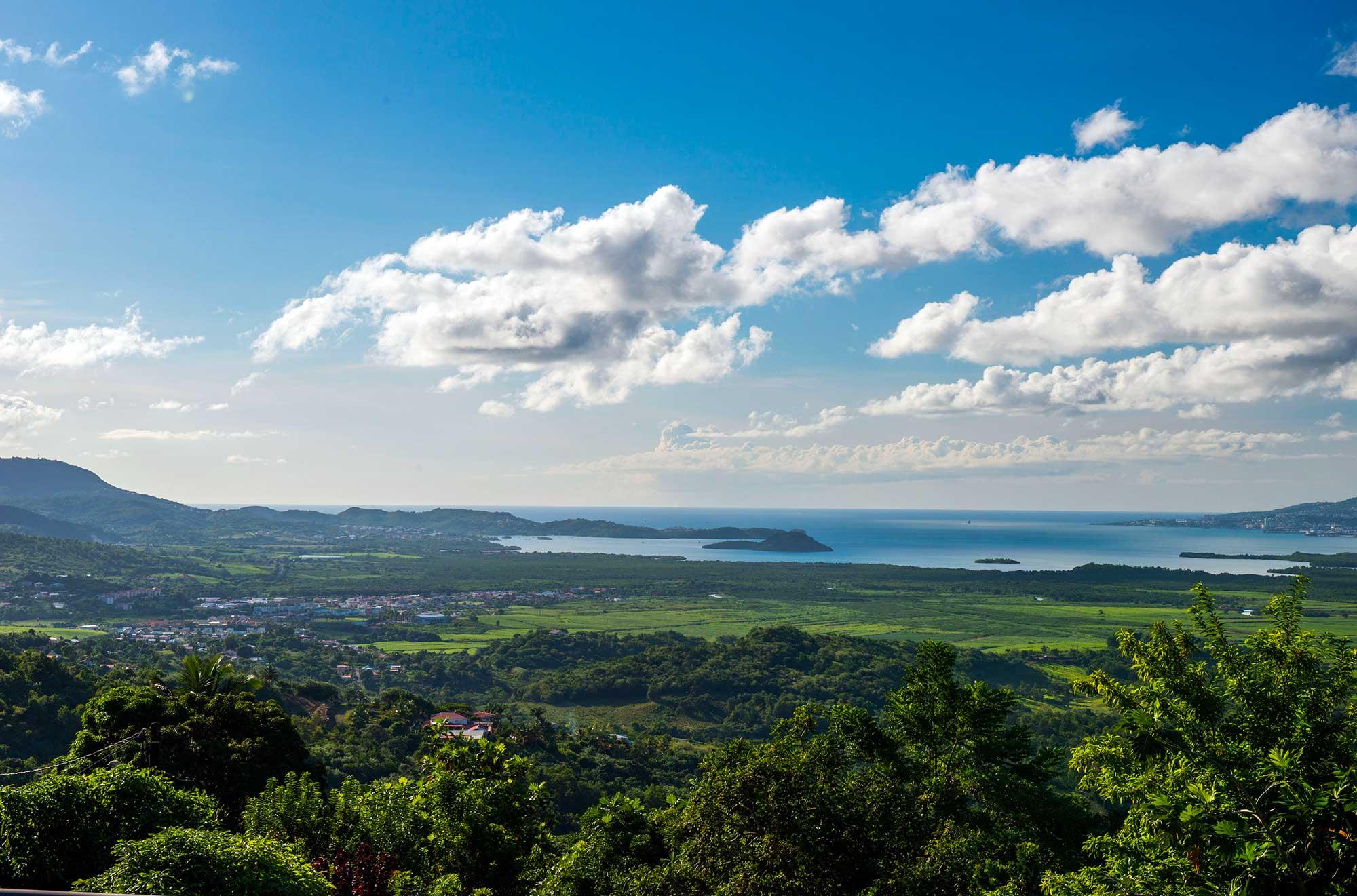 Les champs, la rivière et la mer - Rivière-Salée Martinique