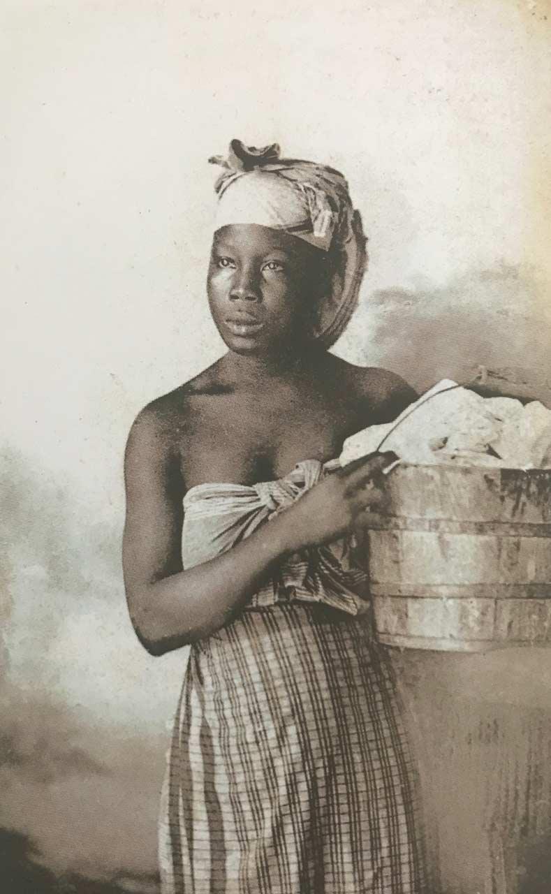 La blanchisseuse - Silver Parade - Martinique