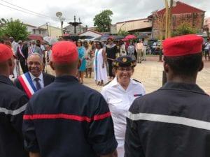 Madame la sous-préfète de la circonscription sud Martinique