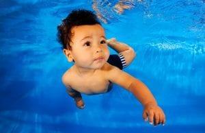 Bébé nageur - Martinique - Rivière-Salée