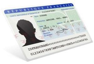 carte d'identité - martinique